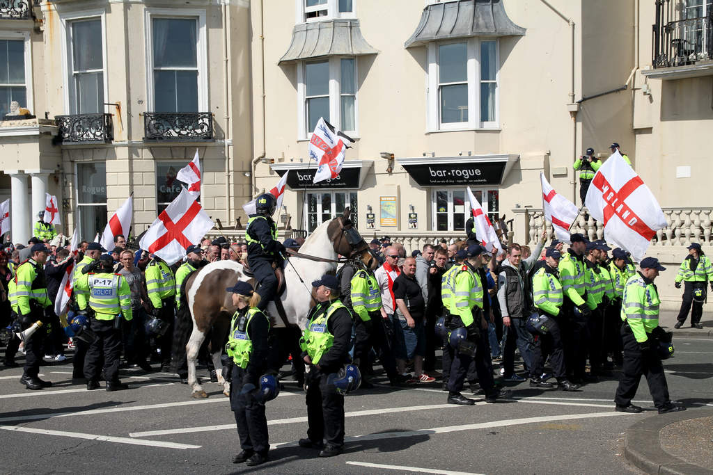 EDL_MArch_for_England_Brighton_2013